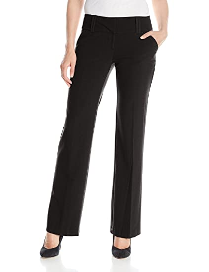 9ad0fe6a My Michelle Women's Perfect Pant with Wide Waistband