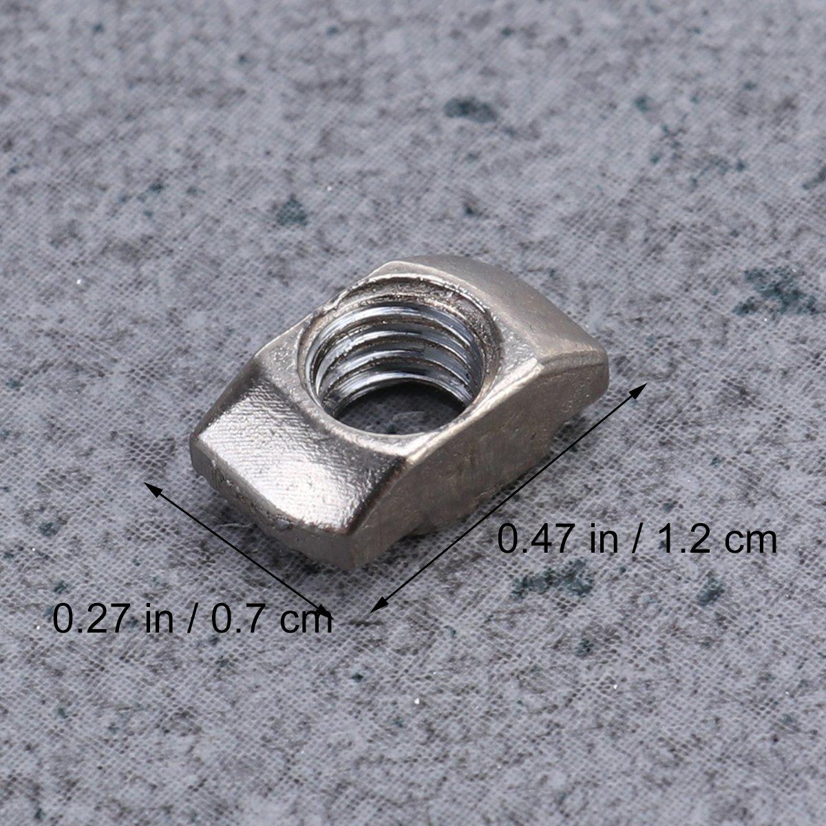 / M5/X 10/X 6 /Rosca M5/T-nut M5/Slim de Aluminio Europeo
