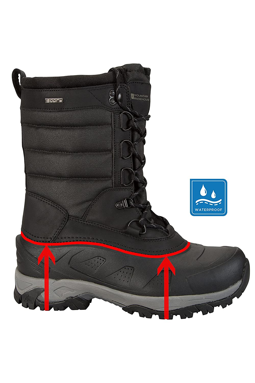 Mountain Warehouse Snow Peak High Snow Boot  Amazon.it  Scarpe e borse 90accbb6643