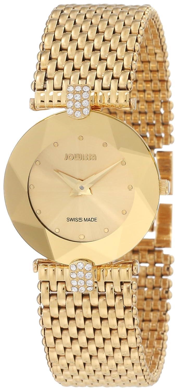 Jowissa Damen-Armbanduhr XS Facet Strass Analog Edelstahl J5.010.M