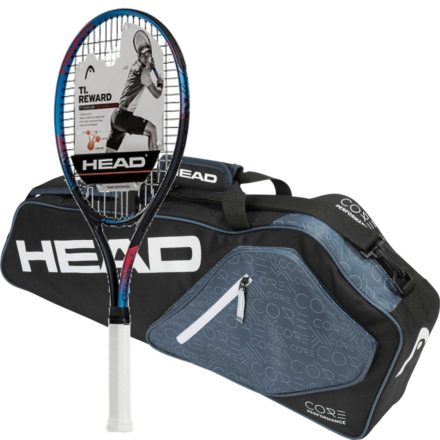Amazon.com : Head Ti.Reward Pre-Strung Tennis Racquet ...
