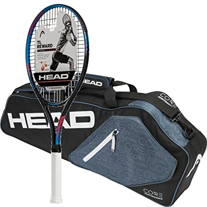 Reward Pre-Strung Tennis Racquet (Grip Size 4 1/2