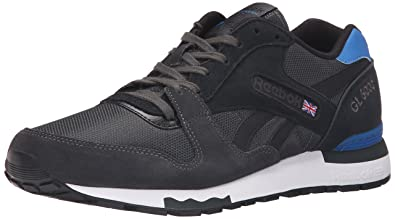 32b4c2fe4488 canada reebok gl 6000 be370 c4d16  discount code for reebok mens gl 6000  athletic classic shoe gravel black blue sport white 45015