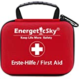 First Aid Kit,All-Purpose Aid Kit and Compact Emergency Kit for Office,Home,Car,School,Camping,Hunting and Sports,Survival Ki
