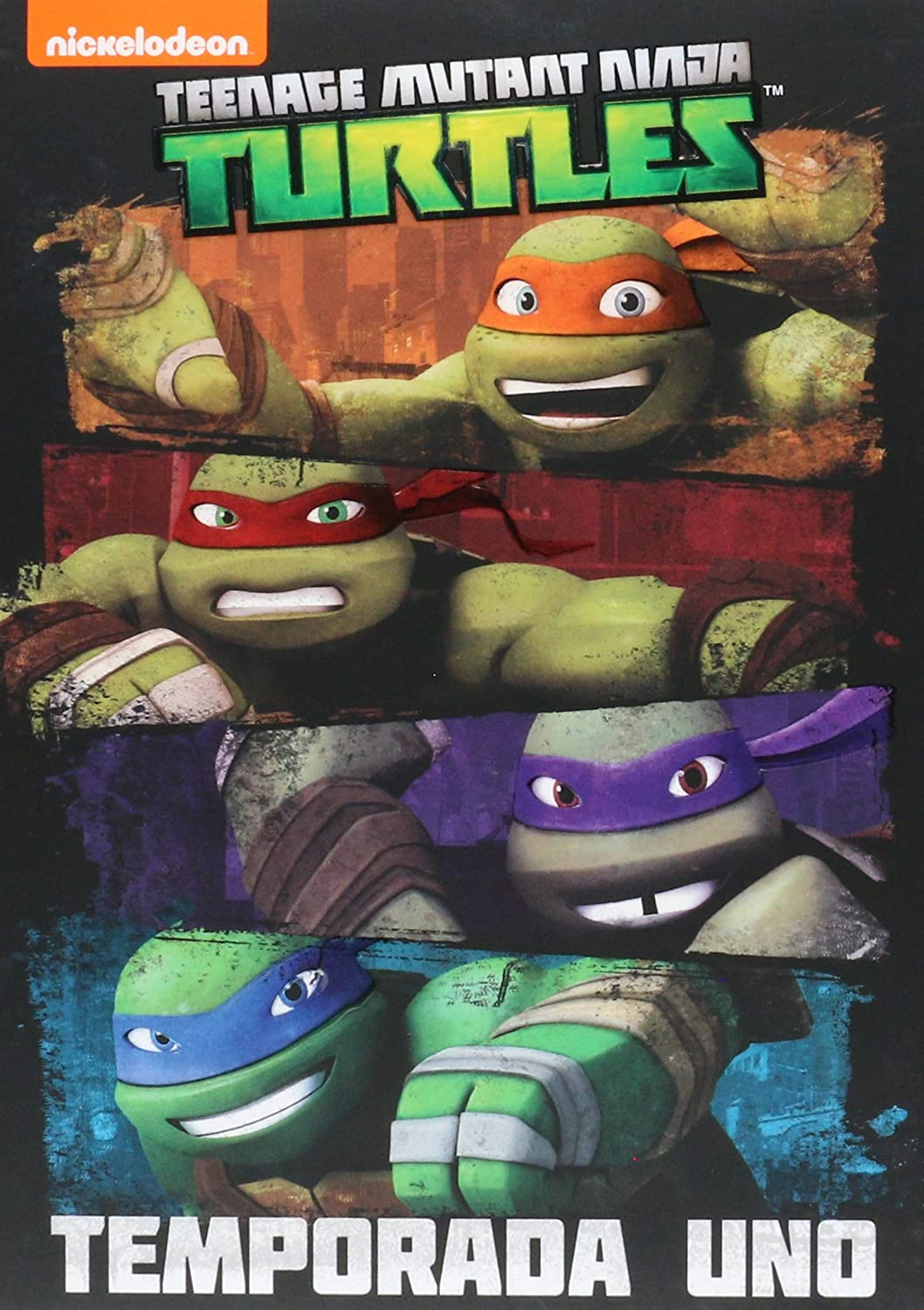 Amazon.com: Tortugas Ninja Teenage Mutant Ninja Temporada 1 ...