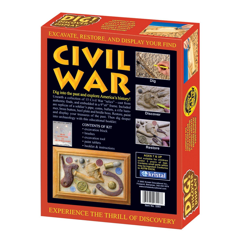 Kristal Educational Dig! Discover Civil War