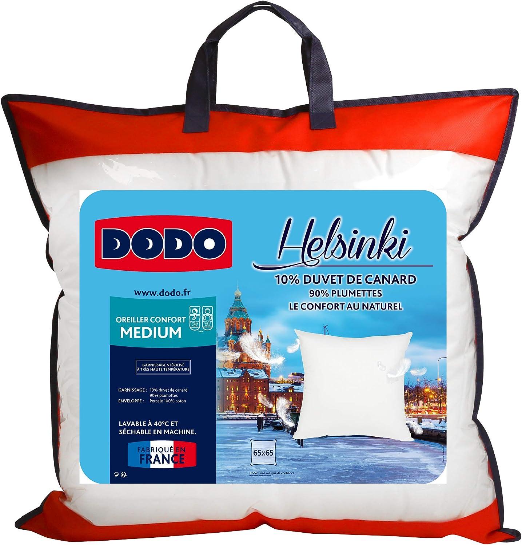 Dodo Oreiller Helsinki 10 Duvet De Canard Medium 65 X 65 Cm Amazon Fr Cuisine Maison