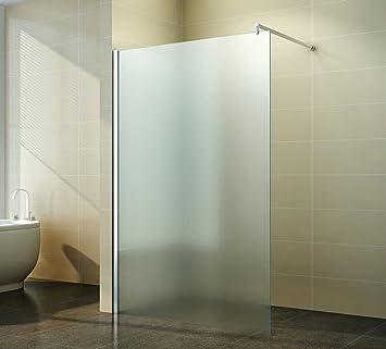 Duschabtrennung glas walk in  Walk in Duschabtrennung | Vollsatiniert | Milchglas | Duschwand ...