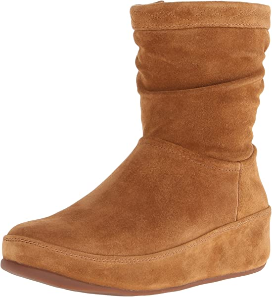 2418e0adf FitFlop Women s Zip Up Crush Suede Boot