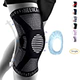 NEENCA Professional Knee Brace,Knee Compression Sleeve Support for Men Women with Patella Gel Pads & Side Stabilizers…