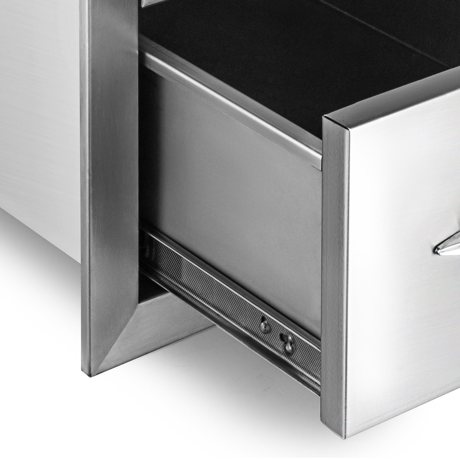 outdoor kitchen drawers storage happybuy outdoor kitchen drawer 18