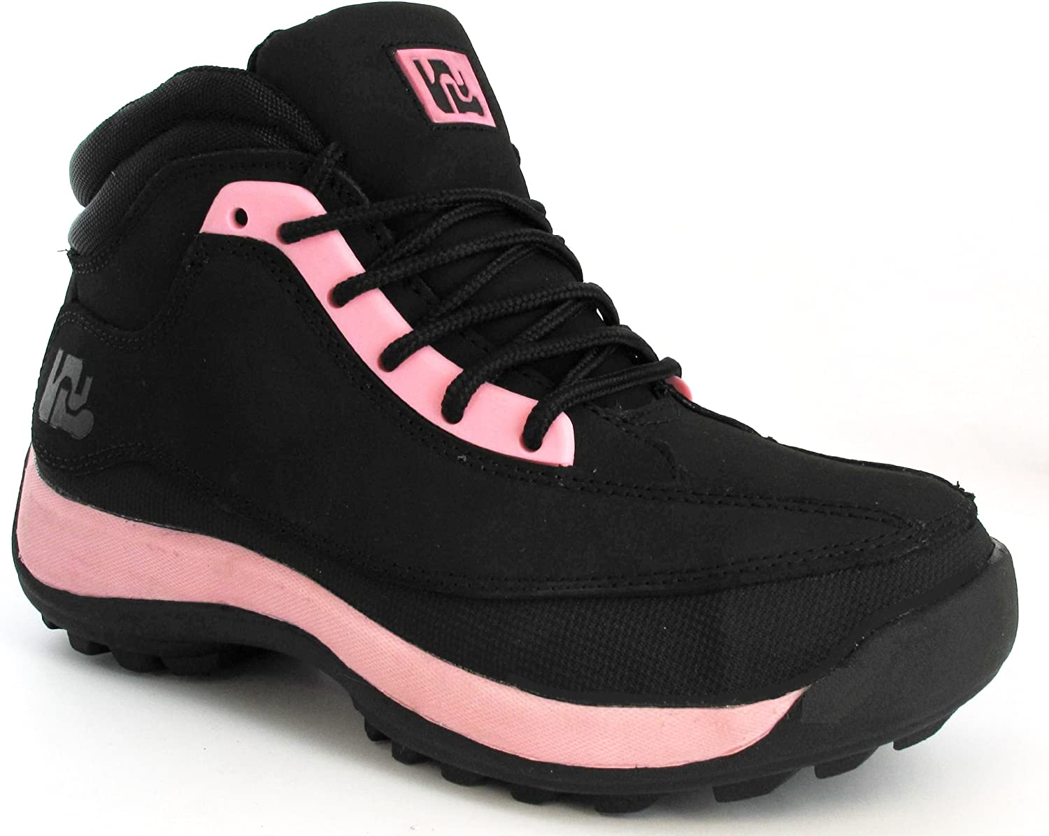 LADIES SAFETY WOMENS LEATHER STEEL TOE