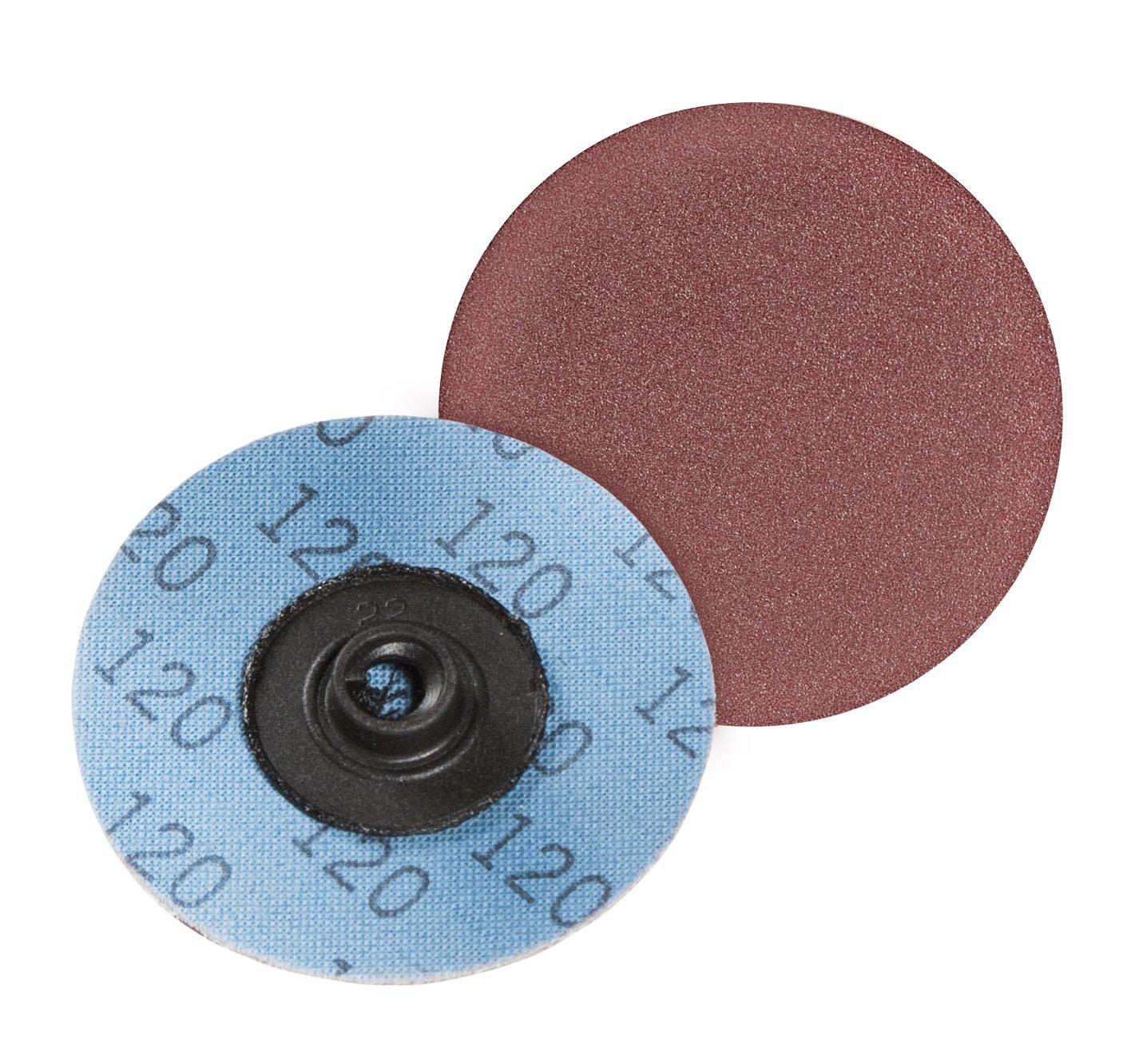 Series KK711Y Turn On Aluminum Oxide VSM Abrasives Co. 50G Type S VSM 70764 3 Quick Change Disc Pack of 25