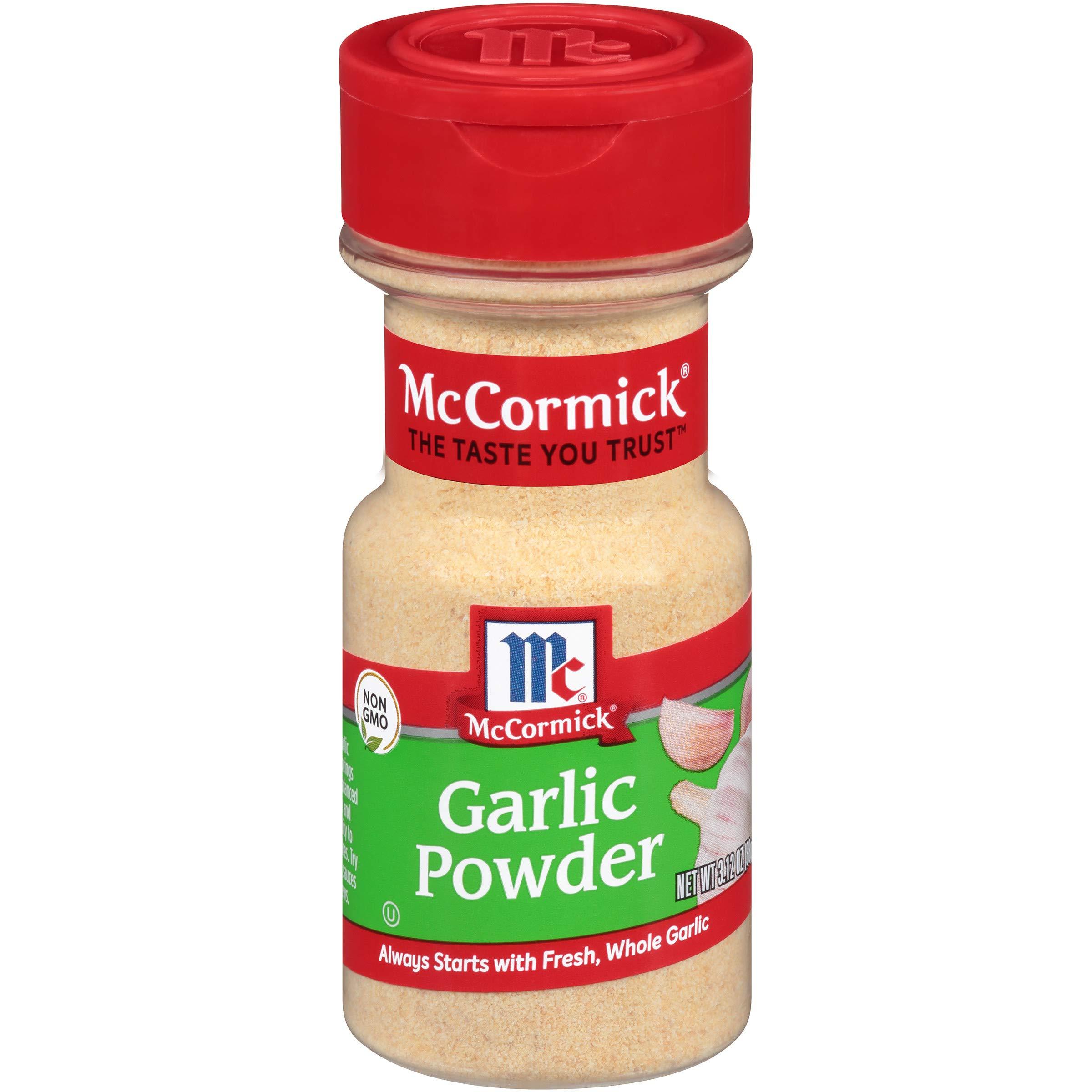 McCormick Classic Garlic Powder, 3.12 oz