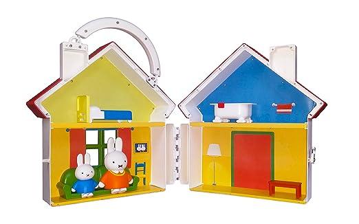 Amazon.com: Miffy 34311 Sweet Home Play - Juego de juguetes ...