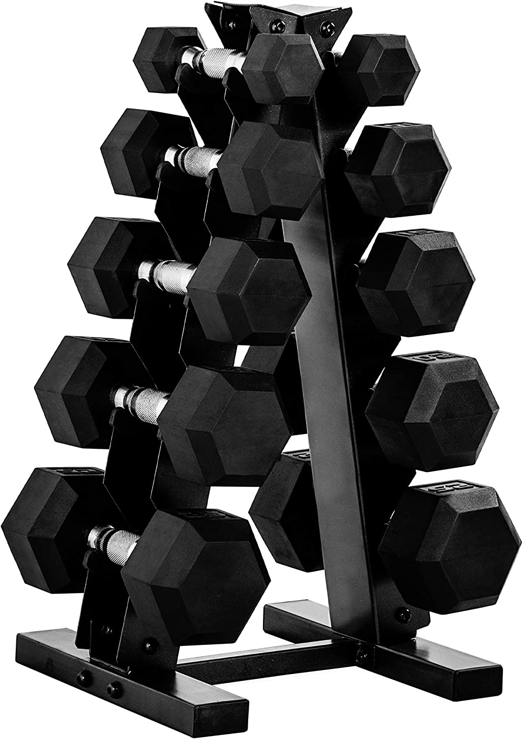 40 lbs total *BRAND NEW w//flaws* CAP 20 lb Dumbbell Rubber Hex Pair Set