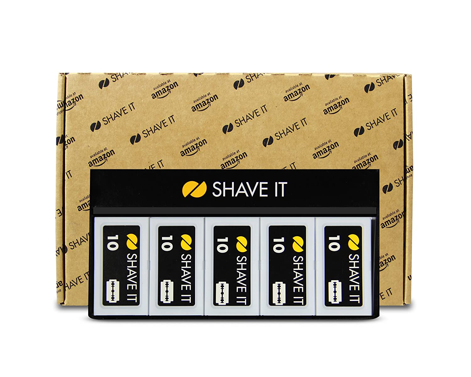 Shave It One Double Edge Blades, 100 Count Pace Shave