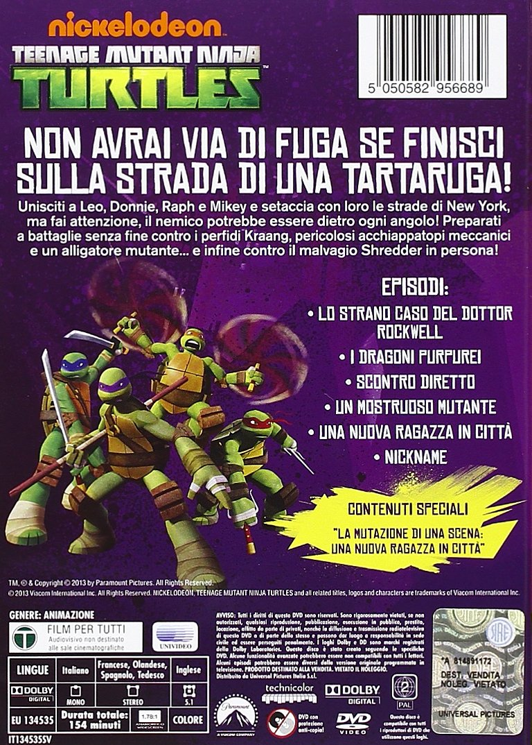Amazon.com: Teenage Mutant Ninja Turtles - Tartarughe Ninja ...