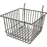 12'W x 12'D x 8'H Deep Basket Black/Semi-gloss--- Lot of 6 each