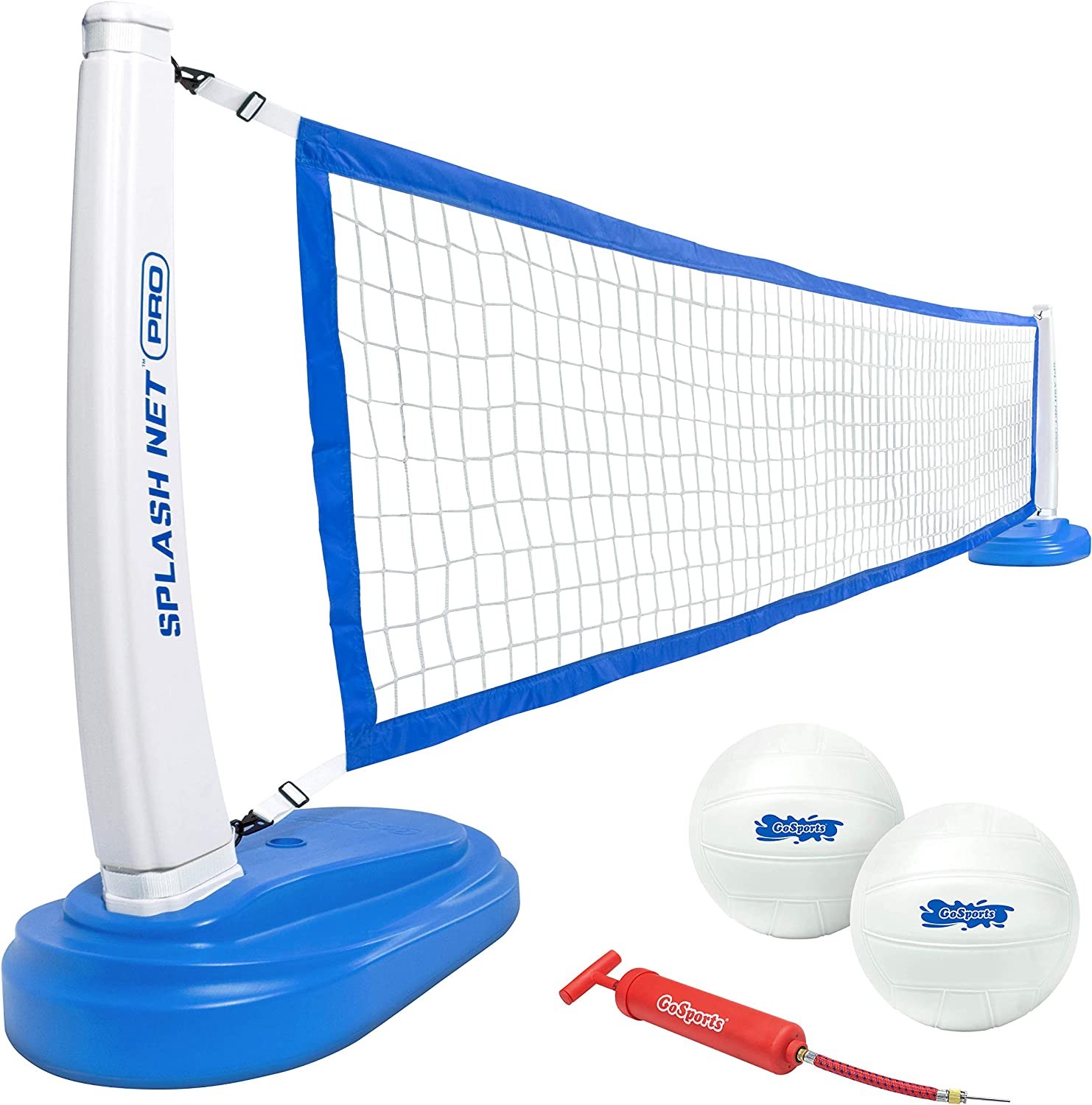 GoSports Splash Net PRO New color Pool Cash special price Vol Water Volleyball 2 Includes