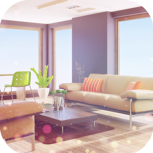 Modern Futuristic Interior Design, Home Furnishing and Decore Ideas Set I