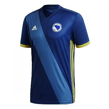 Adidas Selección Bosnia Herzegovina Camiseta de Equipación, Hombre: Amazon.es: Deportes y aire libre