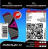 Wolkenstürmer Kite Paraflex Quad 5.0 Lila Lenkmatte
