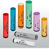 Securina24® Mixed Coin Tubes 1cent to 2Euro or 119Pieces 119 Stück gemischt