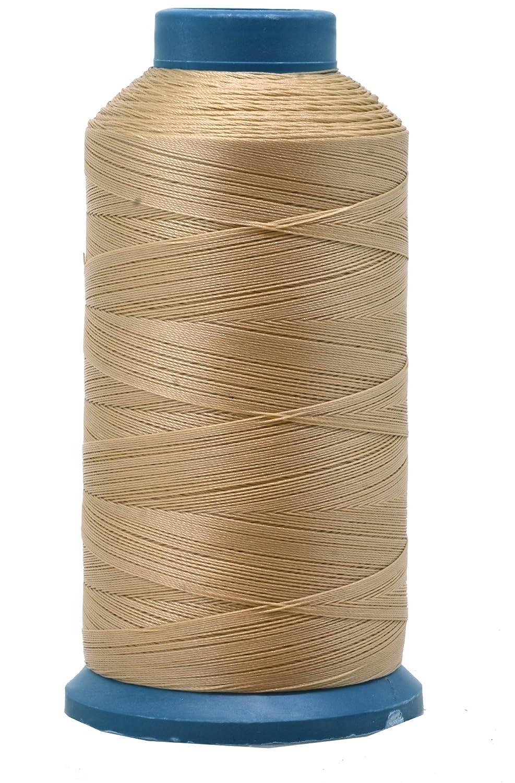 Mandala Crafts Bonded Nylon Sewing Thread, 1500 Yard Size #69 T70 (Black) Mandala Crafts® BCACS17986