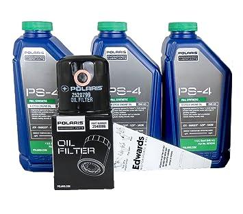 Amazon.com: 2009 POLARIS SPORTSMAN XP 550 EFI POLARIS OIL CHANGE KIT ...