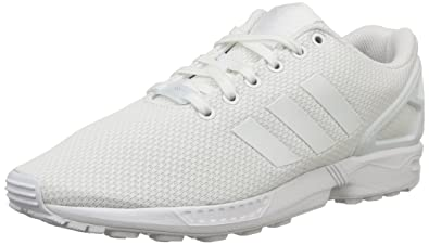 Scarpe ADIDAS ZX FLUX BIANCO sneakers palestra ginnastica