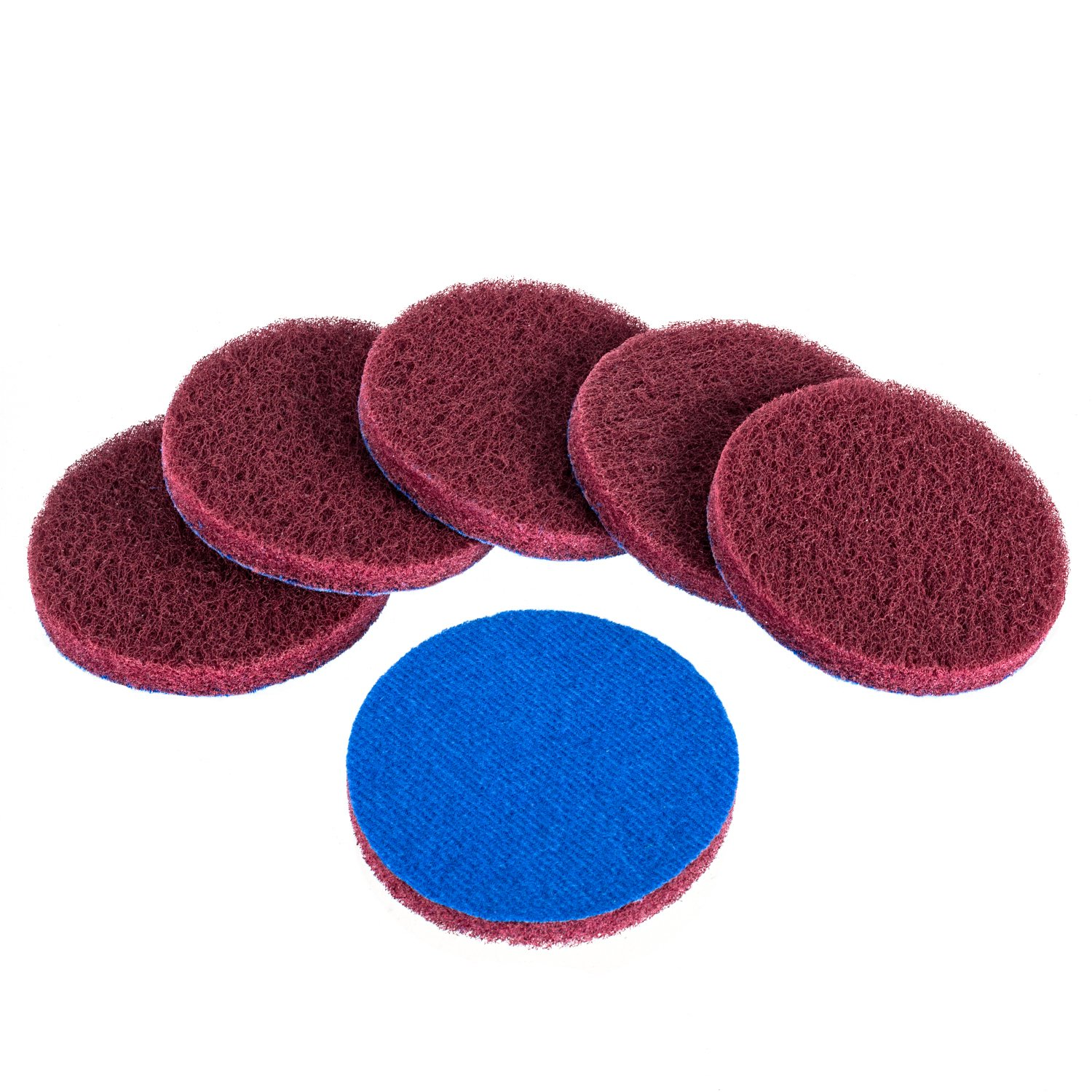 Kichwit 6-Pack Replacement Scrub Pads, Super Abrasive, Green (5 Inch) DB06GPD5IN