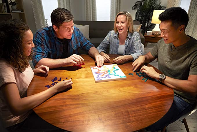 Mattel Games Blokus Refresh, juego de estrategia para niños +7 años (Mattel BJV44): Amazon.es: Juguetes y juegos