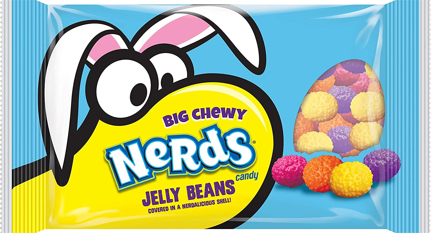 Wonka Nerds Jelly Beans Easter 13 0 Ounce Pack Of 6