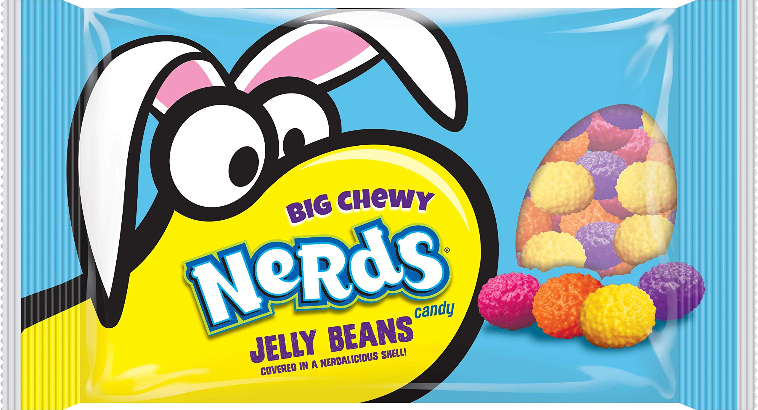 Wonka Nerds Jelly Beans Easter, 13.0-Ounce (Pack of 6)