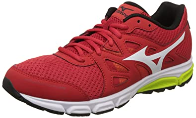 huge selection of cca71 ae87b Mizuno Men s Synchro Md Red Black Yellow Running Shoes-6 UK India