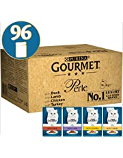 Gourmet Cat Food Perle Chef's Collection 96x85g (96 Pouches)