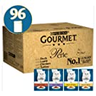 Gourmet Cat Food Perle Chef's Collection, 96 x 85 g, 96 Pouches