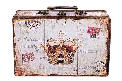 Baúl Caja KD 1289 maletín, estuche de madera set, Baúl con ...