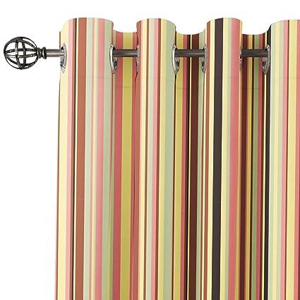 Buy Encasa Homes Eyelet Door Window Curtains Printed 2 Panels 84