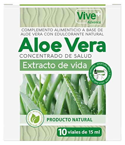 Vive+ Advance Aloe Vera, Suplemento Alimenticio - 3 Paquetes de 10 Unidades