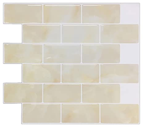 Charming 1 Ceramic Tiles Tiny 24 X 48 Drop Ceiling Tiles Square 2X2 Suspended Ceiling Tiles 3X6 White Subway Tile Youthful 4 X 8 Glass Subway Tile White6 X 6 Tiles Ceramic Amazon.com: Antique White 11.26 In. X 10 In. Peel And Stick Marble ..