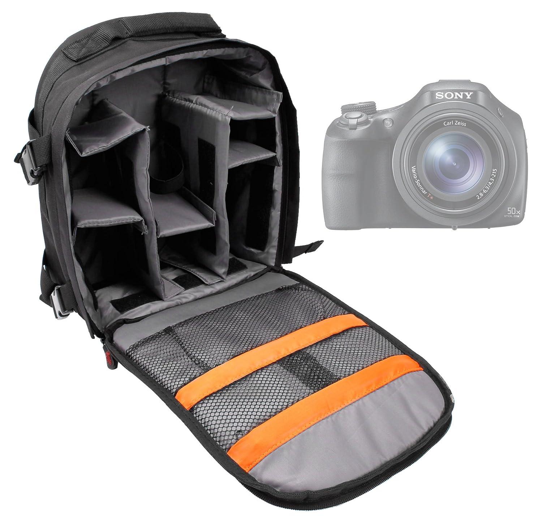 Práctica - Mochila de nailon para cámara Sony DSC-H300, DSC-H400 ...
