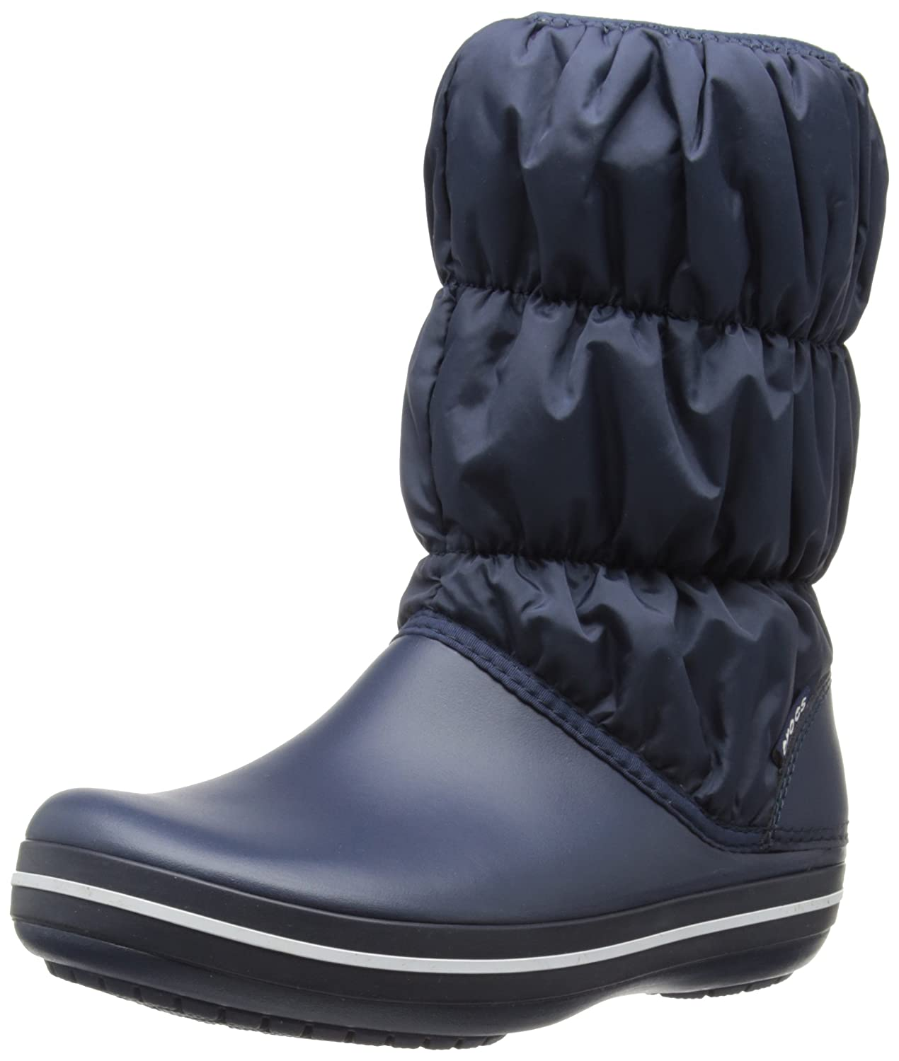Crocs Women's Winter Puff Boot B007PY0QZI 9 B(M) US|Navy/Navy