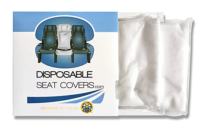 amazon com disposable airplane seat cover clothing