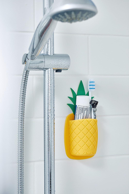 Amazon.com: Pineapple Shaped Silicone Toothbrush Holder ...