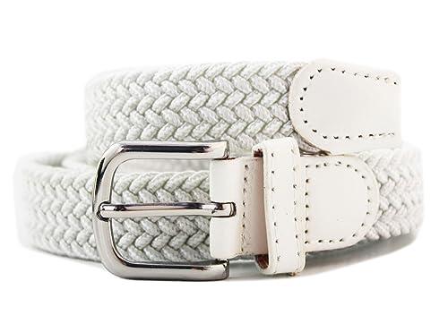 Cinturón Elástico Mujer – Cinturón Trenzado – 25 MM – Confort Unico!