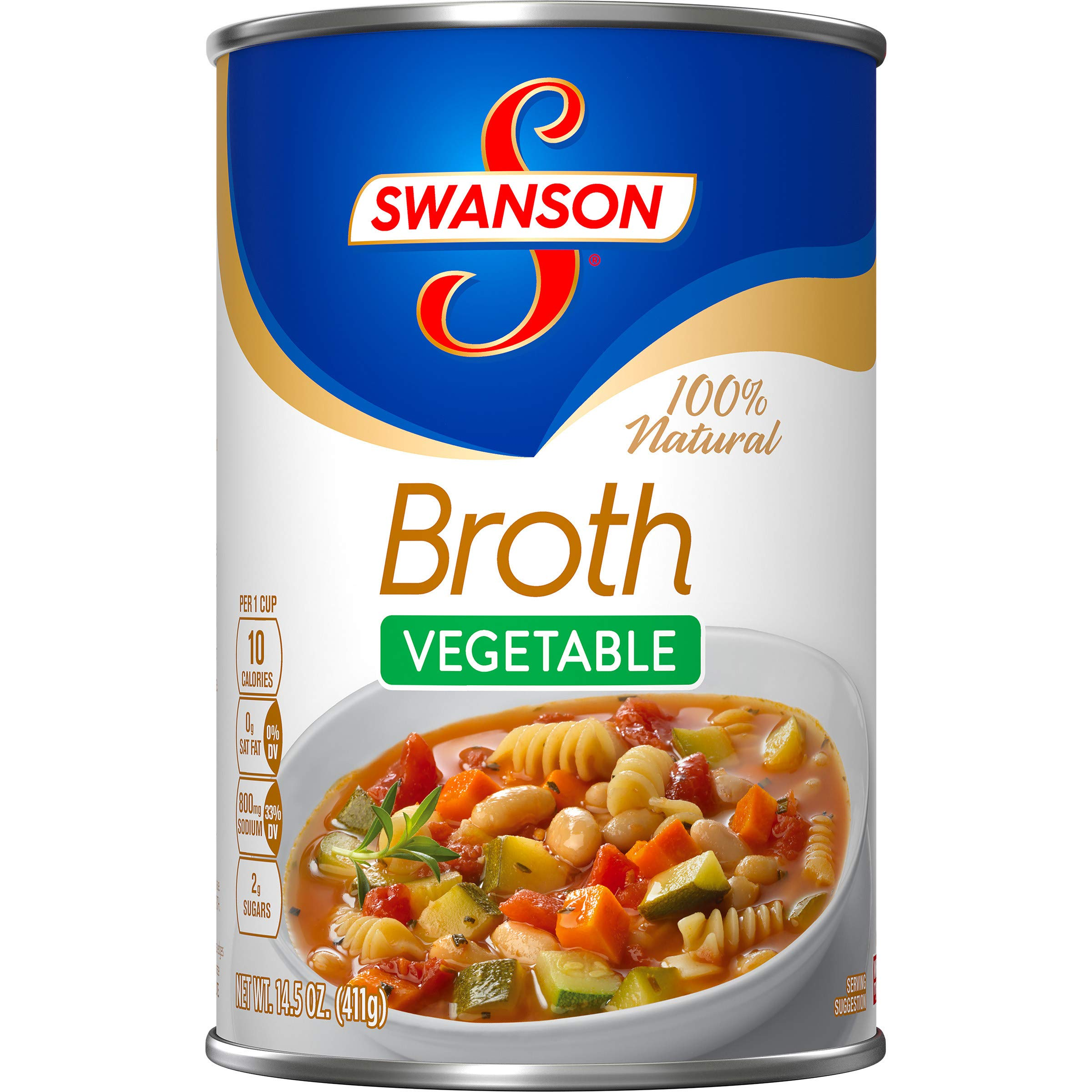 Swanson Vegetable Broth, 14.5 oz. Can