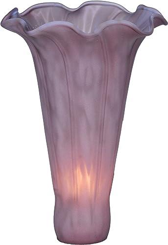 Meyda Tiffany 12911 Lighting, 3 W x 5 H, Lavender