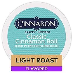 Cinnabon Classic Cinnamon Roll Coffee K Cup Pod